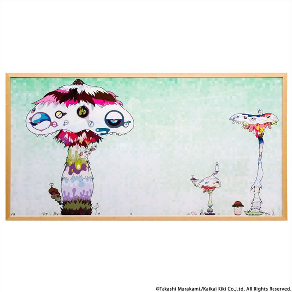 KINSHI GRADUALLY COVER THE WORLD BY TAKASHI MURAKAMI