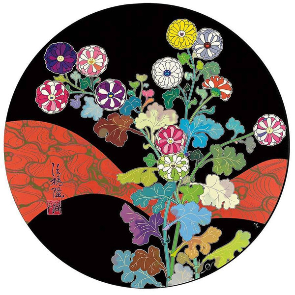 KANSEI: A RED RIVER IS VISABLE BY TAKASHI MURAKAMI