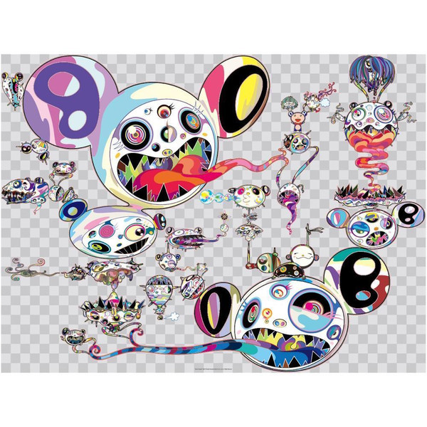 HANDS CLASPED DOB COMPLEXCON  BY TAKASHI MURAKAMI