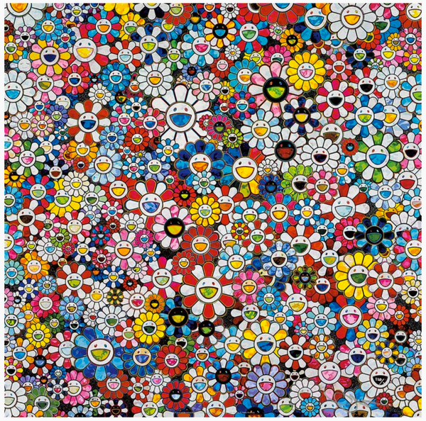 THE FUTURE WILL BE FULL OF SMILE! FOR SURE!  BY TAKASHI MURAKAMI