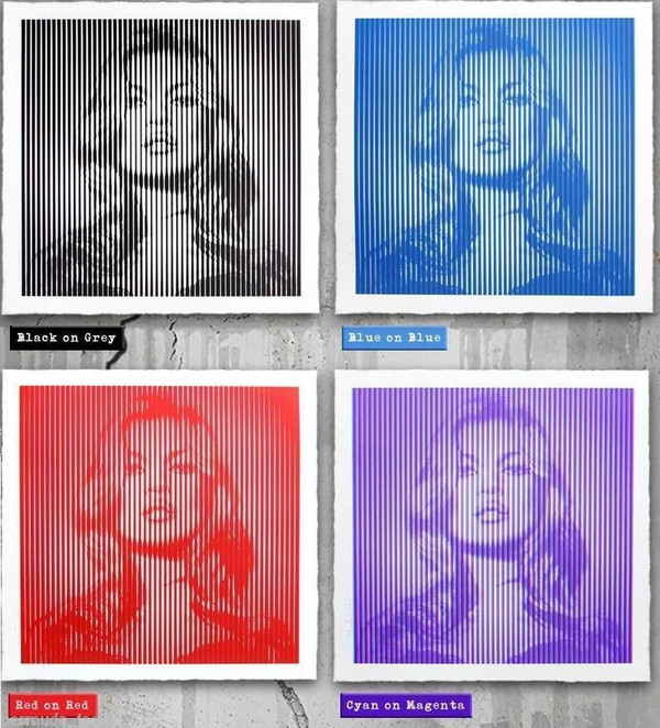 FAME MOSS (SET OF 4) BY MR. BRAINWASH