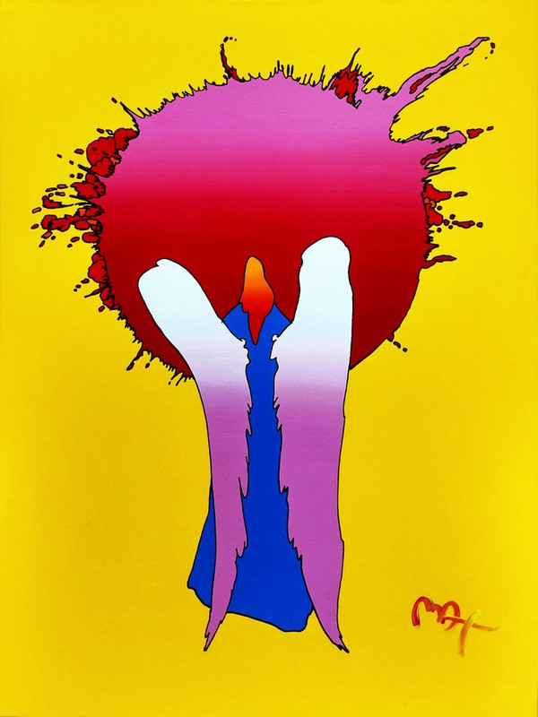 SUN ANGEL BY PETER MAX