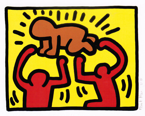 POP SHOP IV (4) BY KEITH HARING