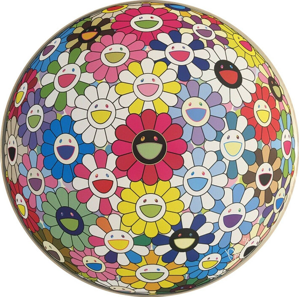 FLOWERBALL HOLD ME TIGHT  BY TAKASHI MURAKAMI