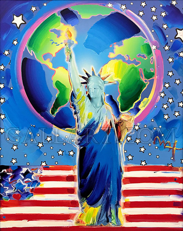 STATUE OF LIBERTY (ORIGINAL) BY PETER MAX