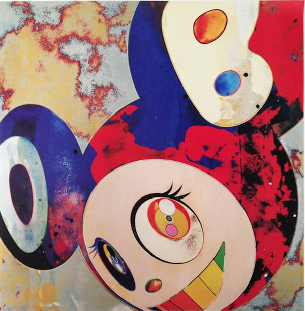 AND THEN, AND THEN GARGLE GLOP DOB BY TAKASHI MURAKAMI