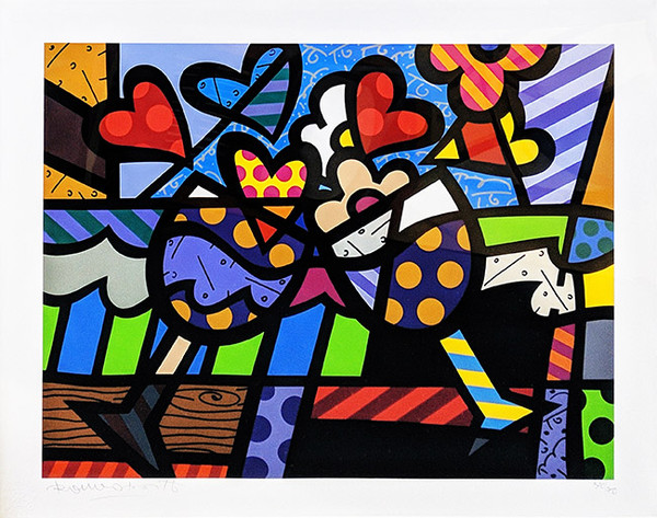 CELEBRATING BY ROMERO BRITTO
