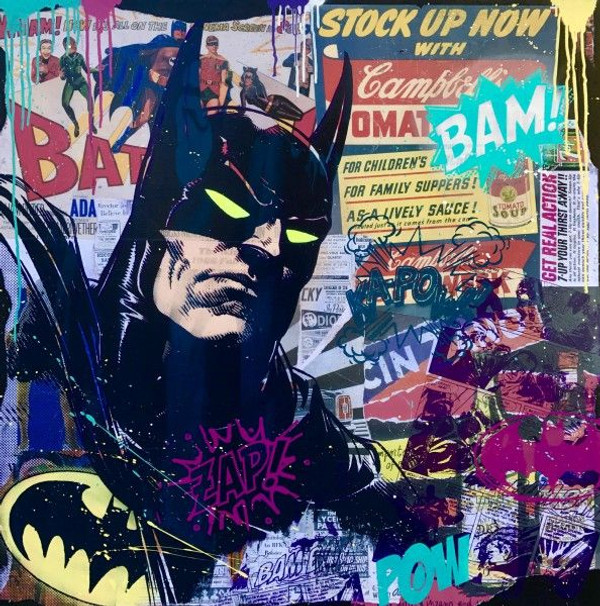 BATMAN OLD ADDS BY MICHEL FRIESS