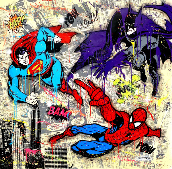 MY SUPER HEROES BY MICHEL FRIESS