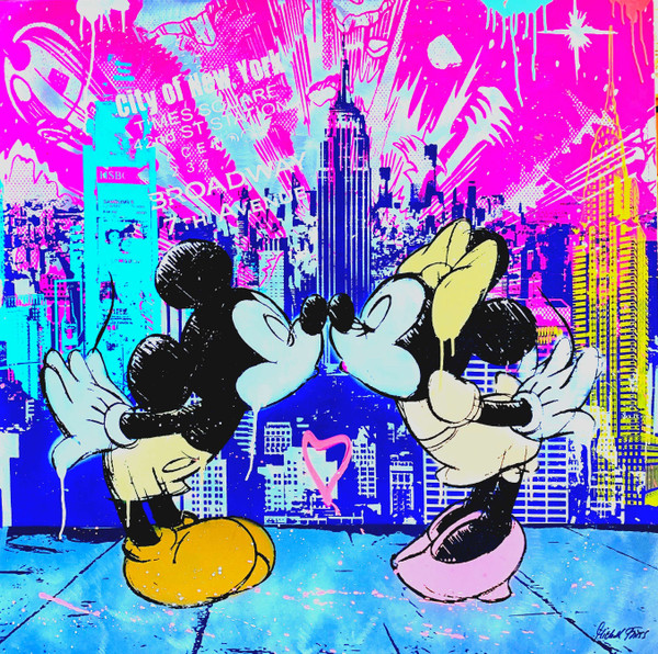 MICKEY LOVES NYC BY MICHEL FRIESS