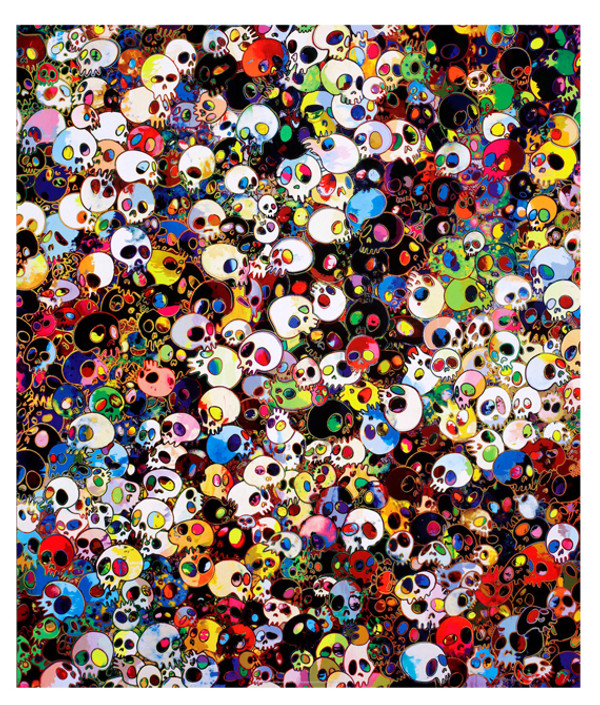THERE ARE LITTLE PEOPLE INSIDE ME BY TAKASHI MURAKAMI