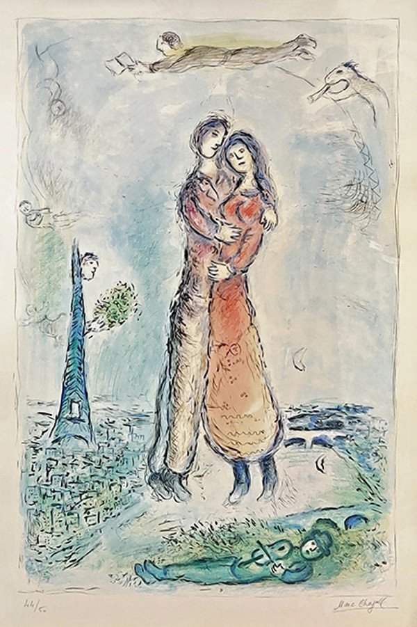 LA JOI BY MARC CHAGALL