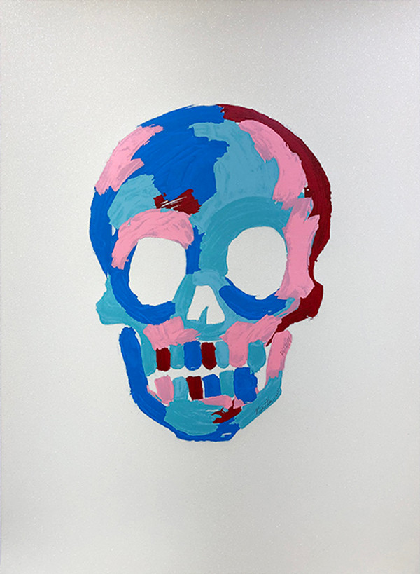 Copy of THE SKULL (WHITE) BY BRADLEY THEODORE