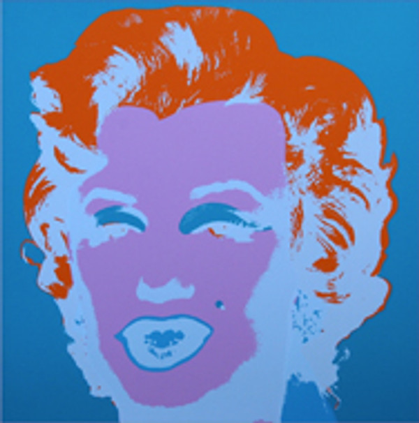 MARILYN MONROE 11.29 BY ANDY WARHOL FOR SUNDAY B. MORNING