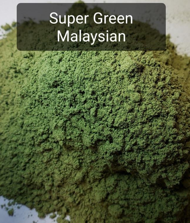Super Green Malaysian powder