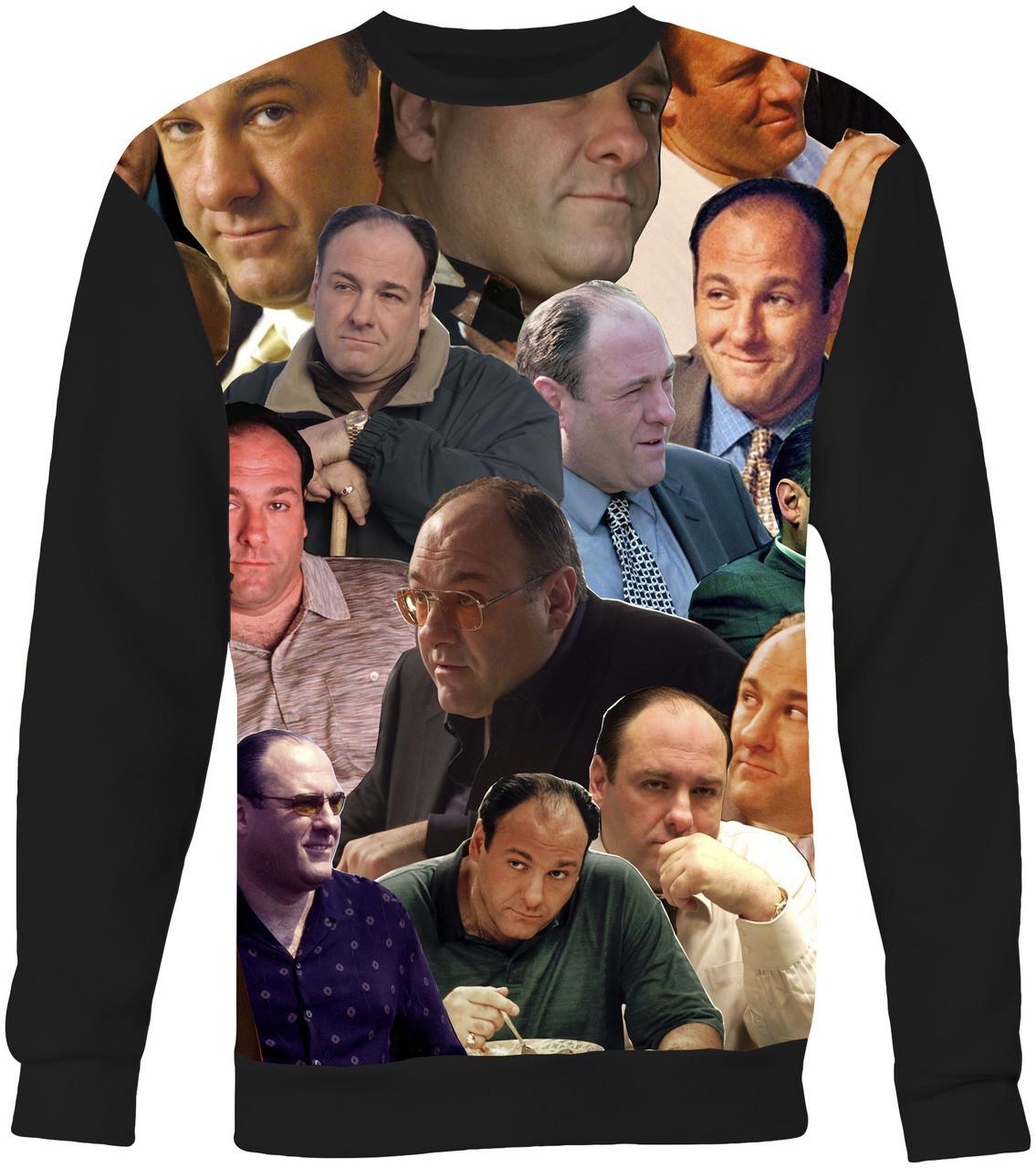 Tony Soprano Photo Collage T-Shirt The Sopranos