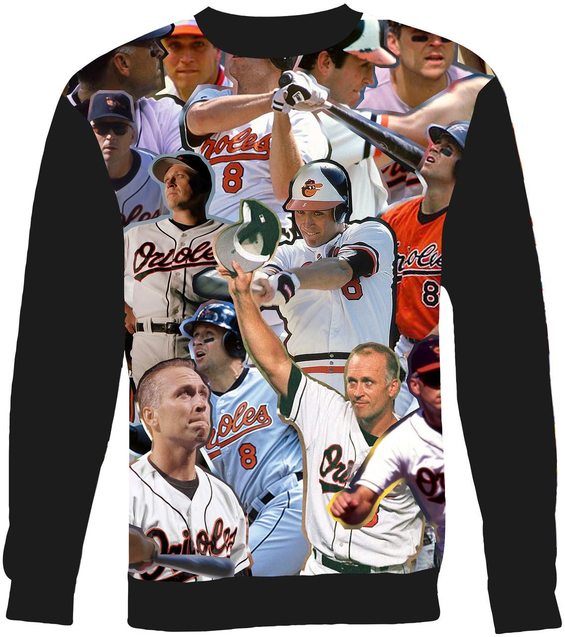 new style 72ff4 f6f4f Cal Ripken Jr. Collage Sweater Sweatshirt