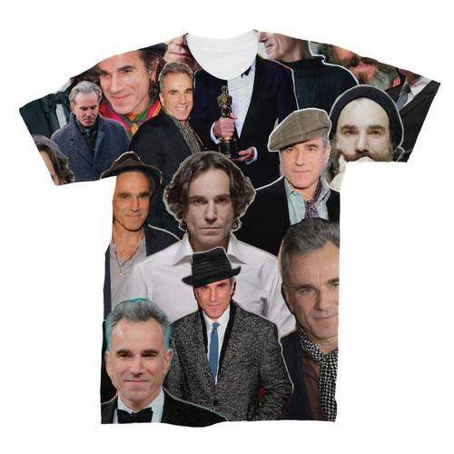 Daniel Day-Lewis Photo Collage T-Shirt