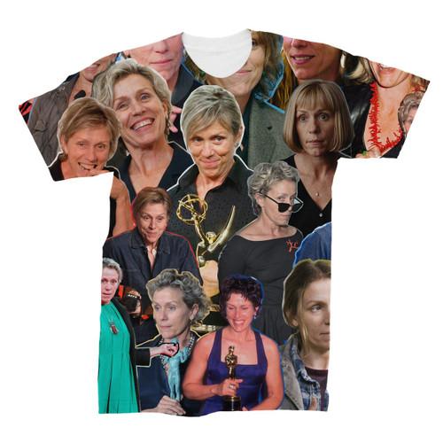 Frances McDormand Photo Collage T-Shirt