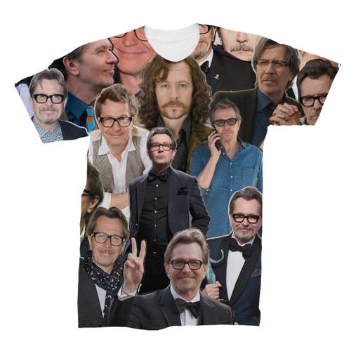 Gary Oldman Photo Collage T-Shirt