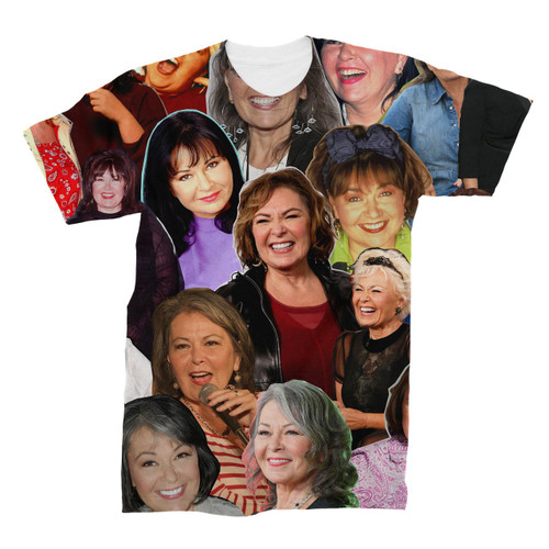 Roseanne Barr Photo Collage T-Shirt
