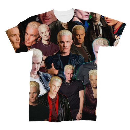 Spike (Buffy The Vampire Slayer) Photo Collage T-Shirt
