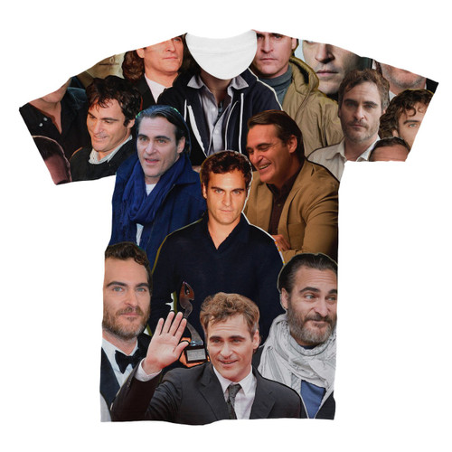 Joaquin Phoenix Photo Collage T-Shirt