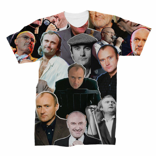 Phil Collins Photo Collage T-Shirt