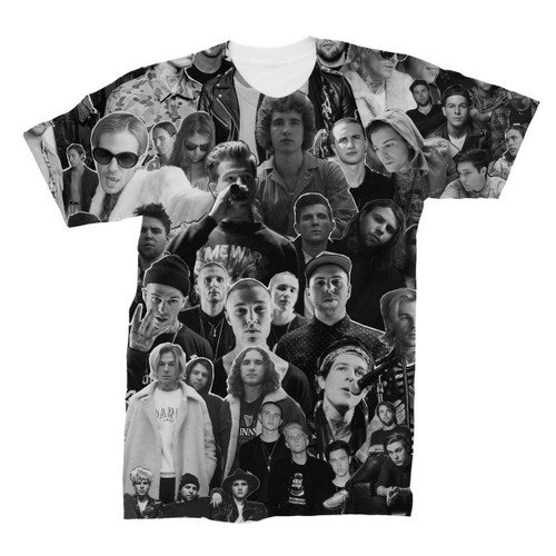 The Neighbourhood (band) Photo Collage T-Shirt