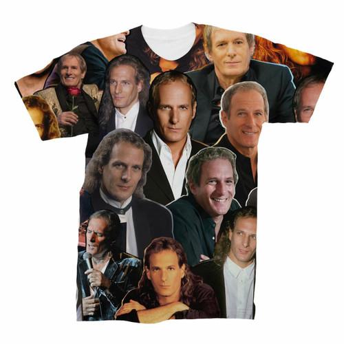 Michael Bolton Photo Collage T-Shirt