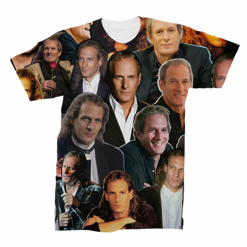 Michael Bolton Photo Collage T-Shirt