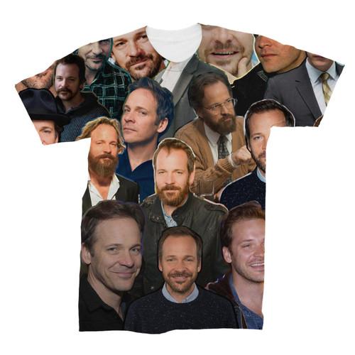 Peter Sarsgaard Photo Collage T-Shirt