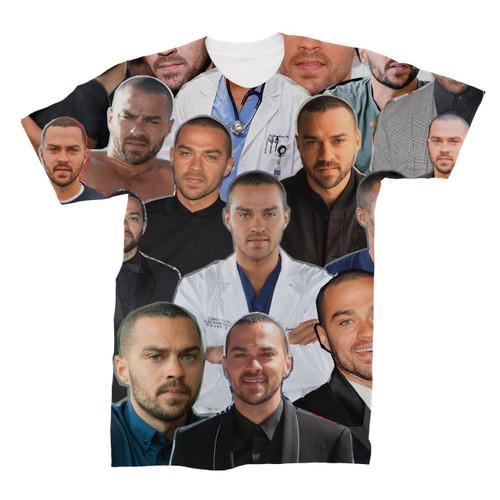 Jesse Williams Photo Collage T-Shirt