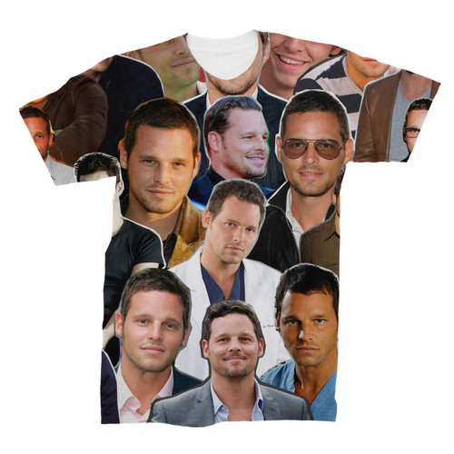 Justin Chambers Photo Collage T-Shirt