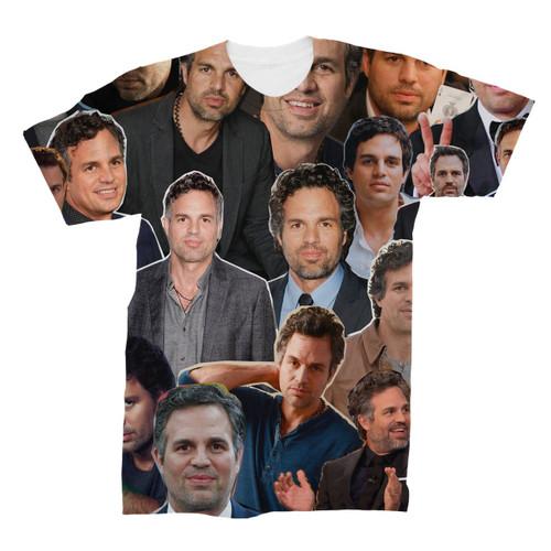 Mark Ruffalo Photo Collage T-Shirt