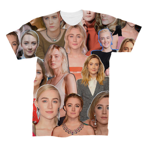 Saoirse Ronan Photo Collage T-Shirt