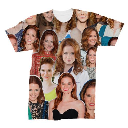 Sarah Drew Photo Collage T-Shirt