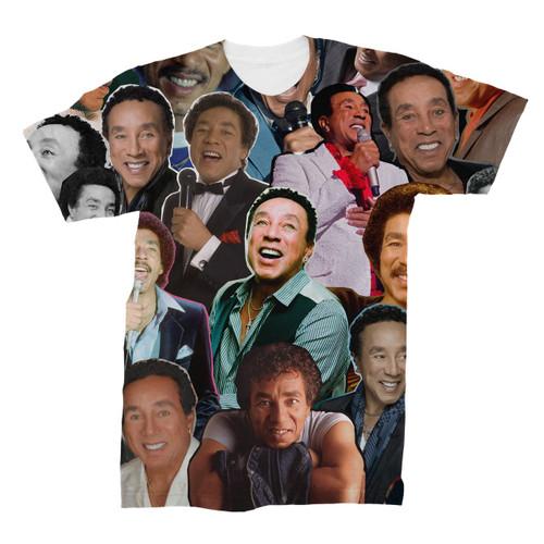 Smokey Robinson Photo Collage T-Shirt