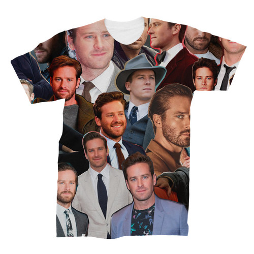Armie Hammer Photo Collage T-Shirt