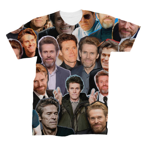 Willem Dafoe Photo Collage T-Shirt