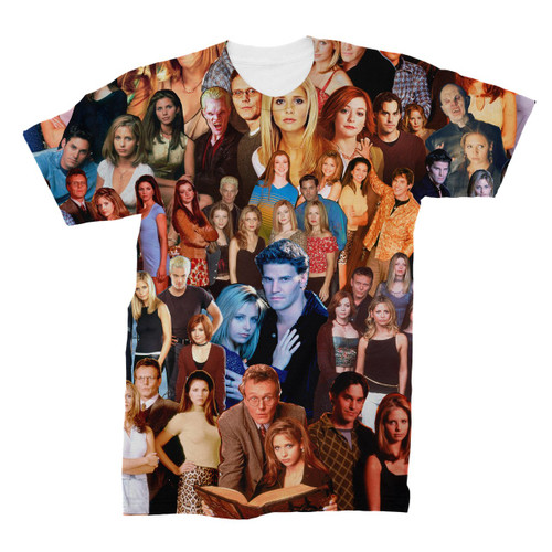 Buffy The Vampire Slayer (Show) Photo Collage T-Shirt
