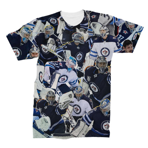 Connor Hellebuyck Photo Collage T-Shirt