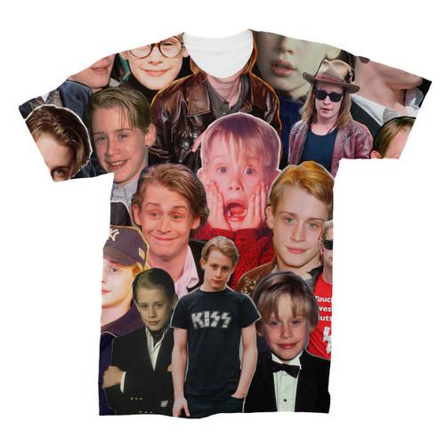 Macaulay Culkin Photo Collage T-Shirt