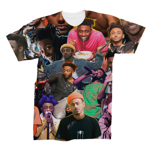 Amine Photo Collage T-Shirt