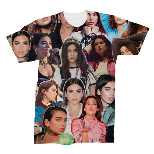 Dua Lipa Photo Collage T-Shirt