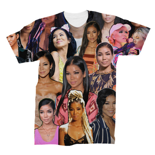 Jhene Aiko Photo Collage T-Shirt