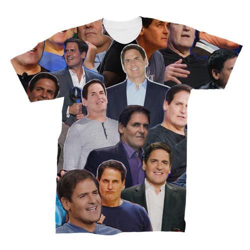 Mark Cuban Photo Collage T-Shirt
