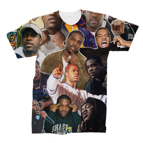 A$AP Ferg Photo Collage T-Shirt
