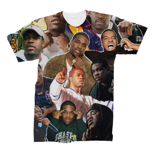 A$AP Ferg Photo Collage T-Shirt