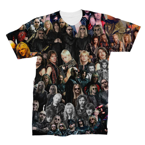 Judas Priest Photo Collage T-Shirt